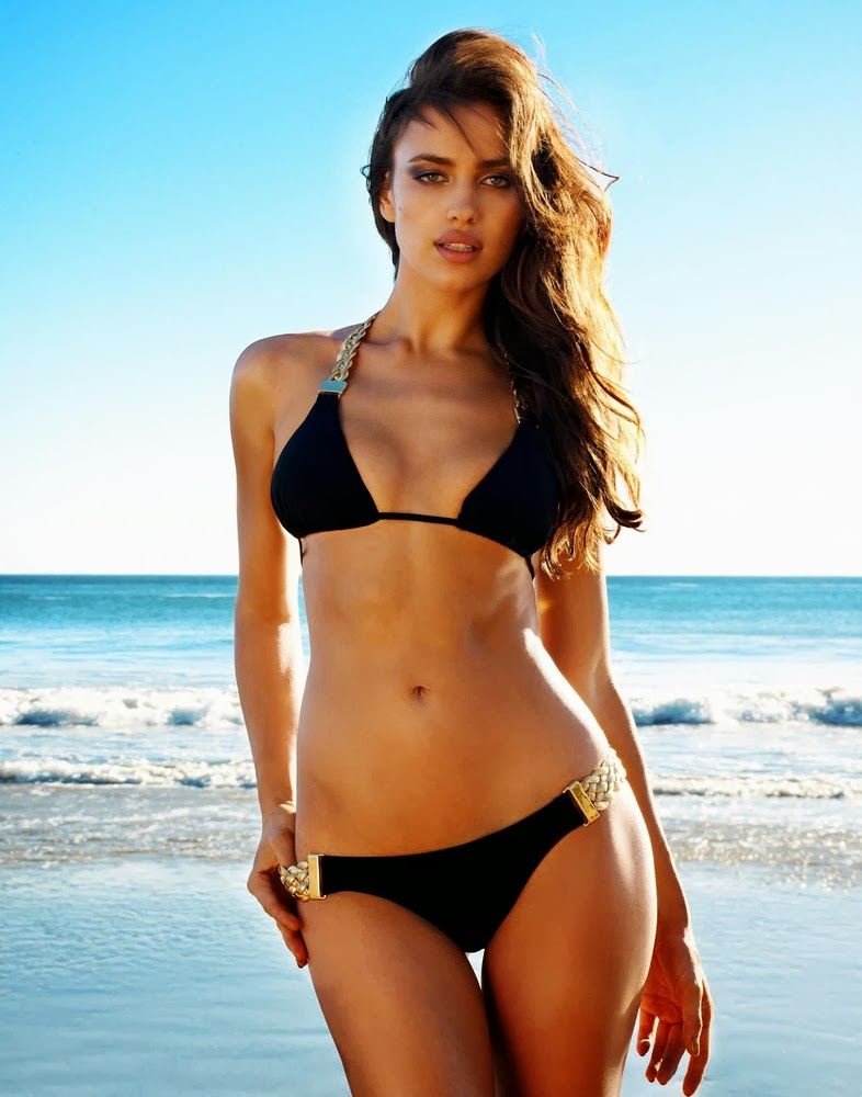 Irina Shayk for Beach Bunny swimwear campaign Take Me to Rio-passion4luxury-19